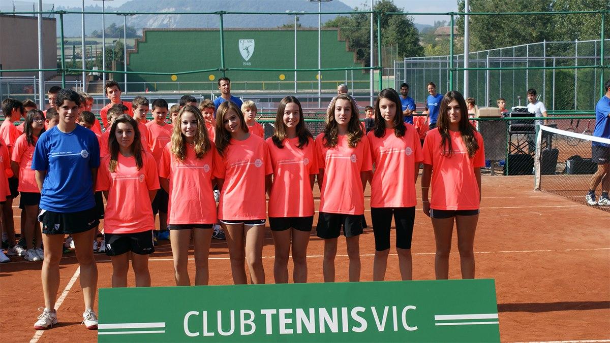 Presentació de l'escola de Tennis i Pàdel