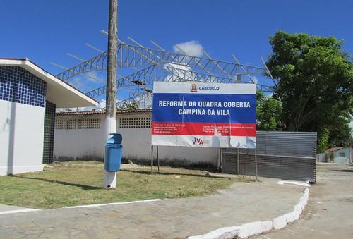 Leto Viana visita obras em Cabedelo