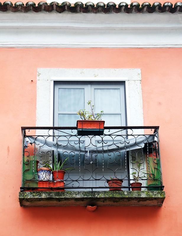 Lisbon Window Balcony