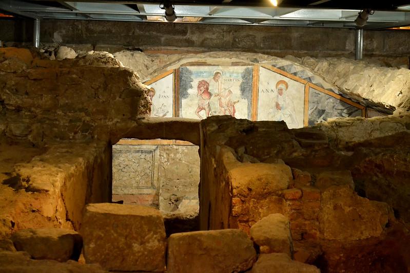 La cripta de Santa Eulalia y sus pinturas murales