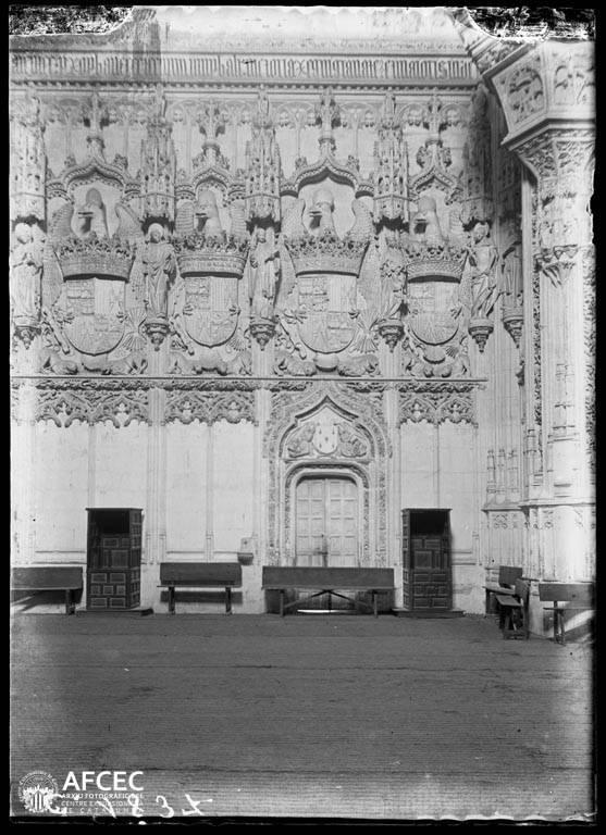 San Juan de los Reyes en Toledo a comienzos del siglo XX. Autor Desconocido   © Centre Excursionista de Catalunya