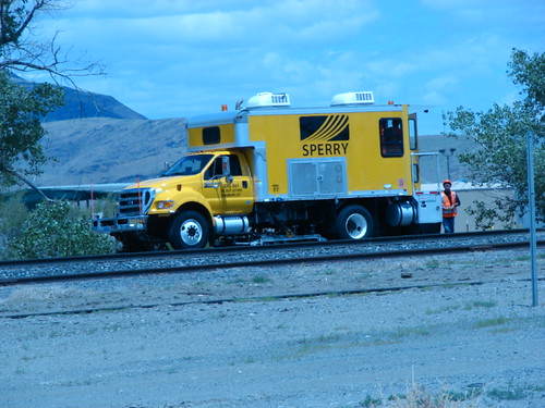 Sperry Rail Detector at Fernley