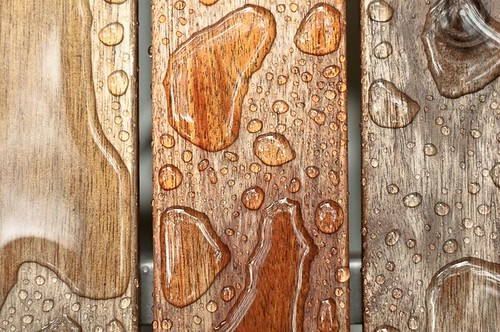 Water on wood | by a L p