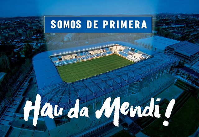 El Deportivo Alaves SAD asciende a la Liga BBVA