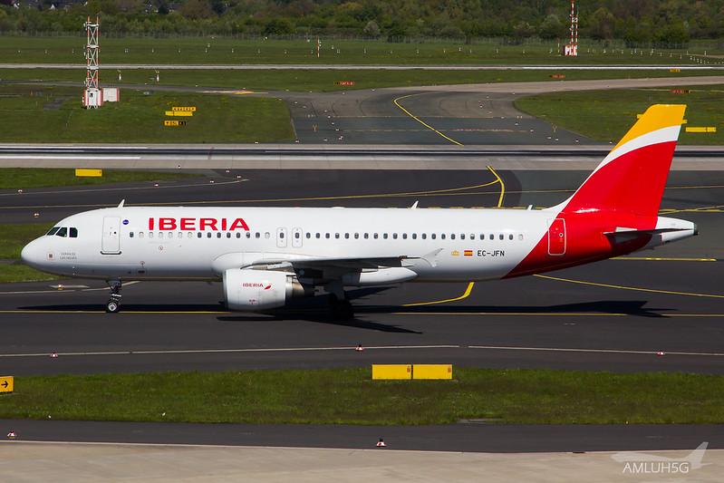 Iberia - A320 - EC-JFN (1)