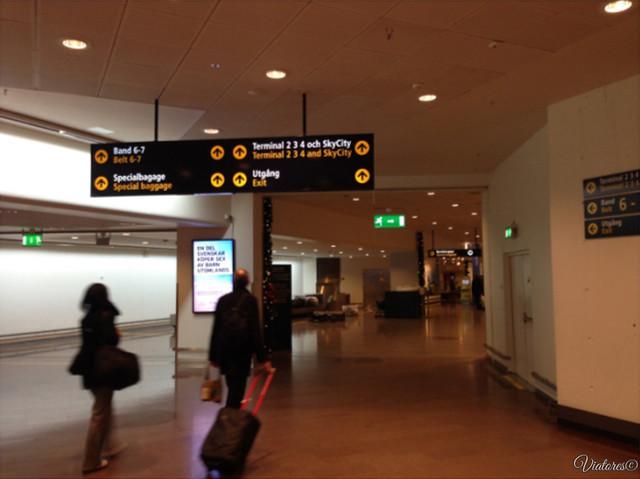 Aeroport Arlanda. Stockholm. Sweden
