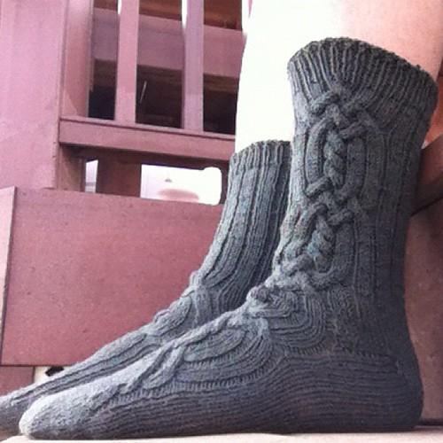 Socks II #nofilter #handknit #instagram