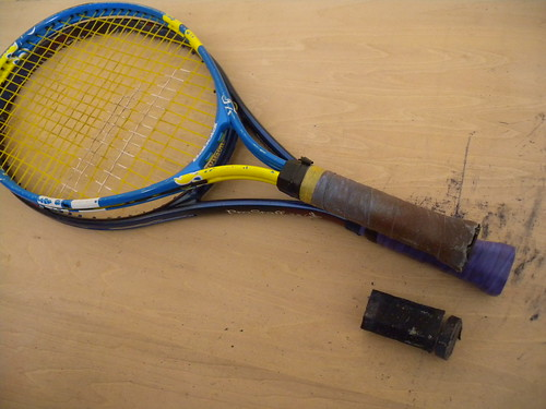 tennis racket modification #4