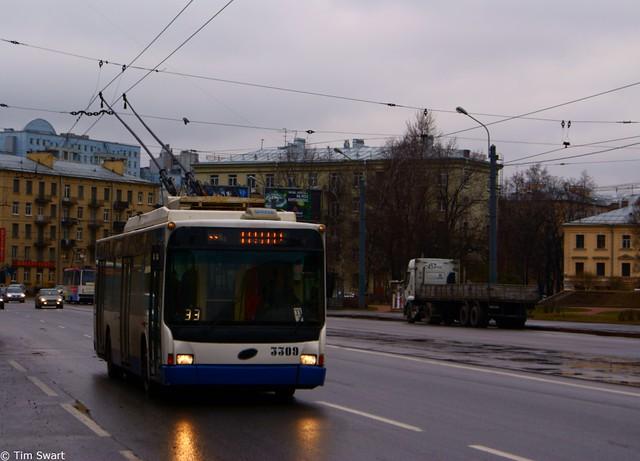 С Тверской пропадут троллейбусы.