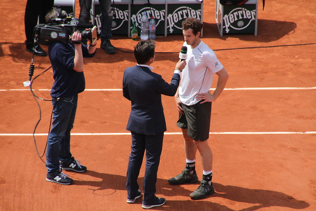 Fabrice Santoro & Andy Murray