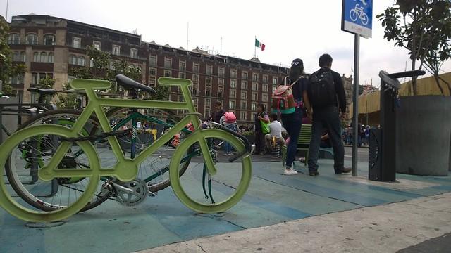 Parque de bolsillo Zócalo Ciudad De México