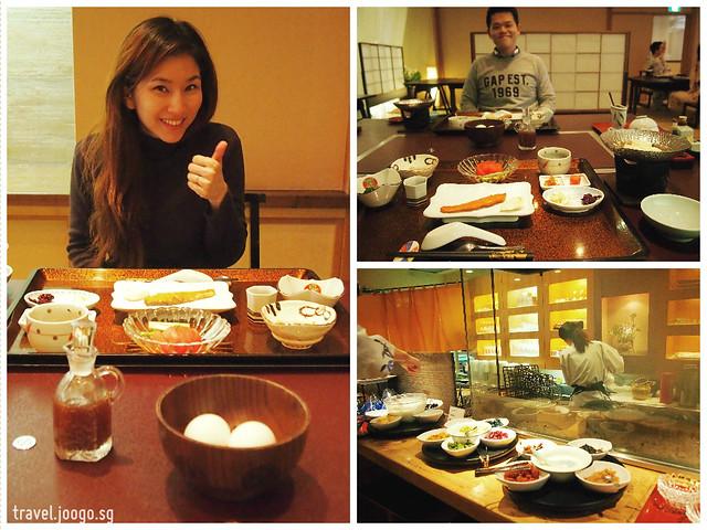 Takinoya Bekkan Tamanoyu Noboribetsu Breakfast - travel.joogo.sg