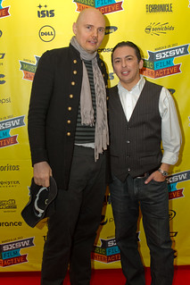 SXSW 2012 - Smashing Pumpkin's Billy Corgan with Altimeter Group's Brian Solis | by thekenyeung