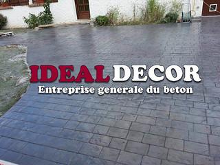 entreprise ideal decor beton imprime