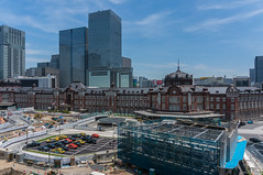 Tokyo Station as seen from the Shin-Marunouchi Building