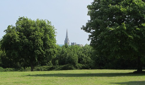 Chichester Cathedral from East Broyle
