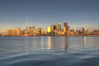Toronto - Sunrise - Golden Hour | by .:Axle:.