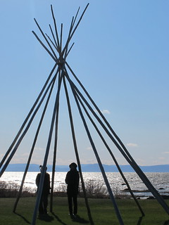 Teepee in Cacouna | by christellefv