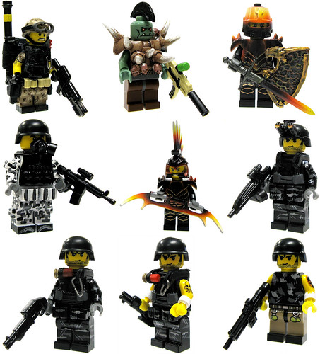 Brick Mercenaries (Batch #3) | by ToyWiz.com