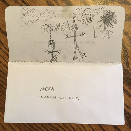 Church [offering envelope] drawing by Lala
