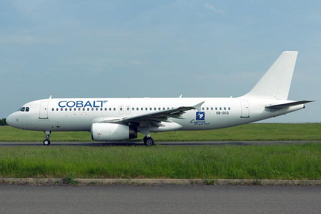 Cobalt Airbus A320-233 5B-DCQ