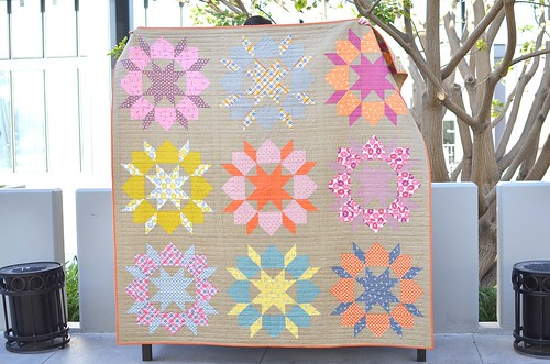 aunt edna swoon quilt front | by ericajackman