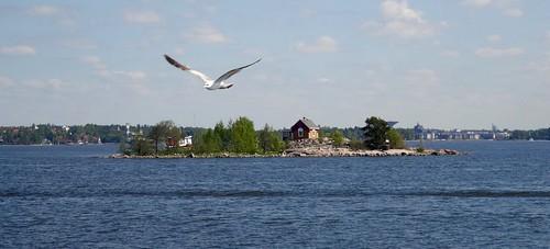 Met de ferry naar Suomenlinna