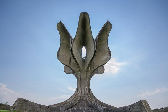 Stone Flower Monument