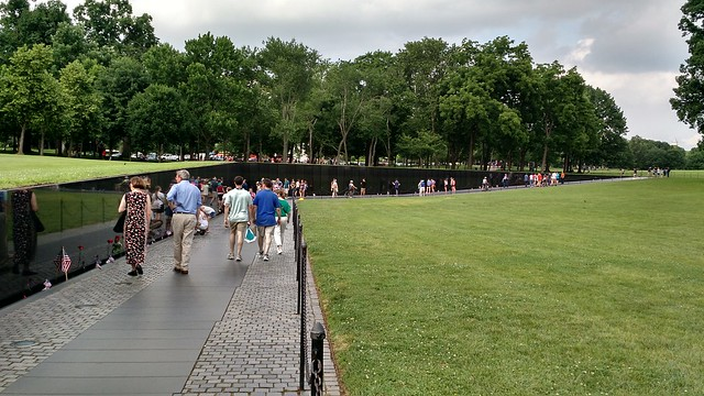 Vietnam Memorial at Washington DC