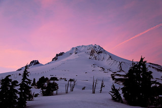 Mt Hood Sunset | by palegreenstarz