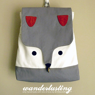 The Fantastic Fox BackPack | by my little odd forest