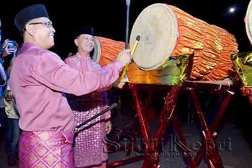 Pelepasan Pawai Takbir Idul Fitri 1437 H, oleh Wakil Walikota Tanjungpinang dan DPRD Tanjungpinang