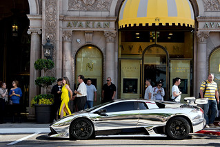 100k Views = Chrome Lamborghini Murcielago | by Effspot