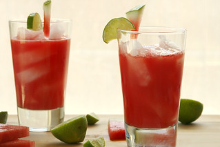 watermelon agua fresca 7 | by crumblycookie
