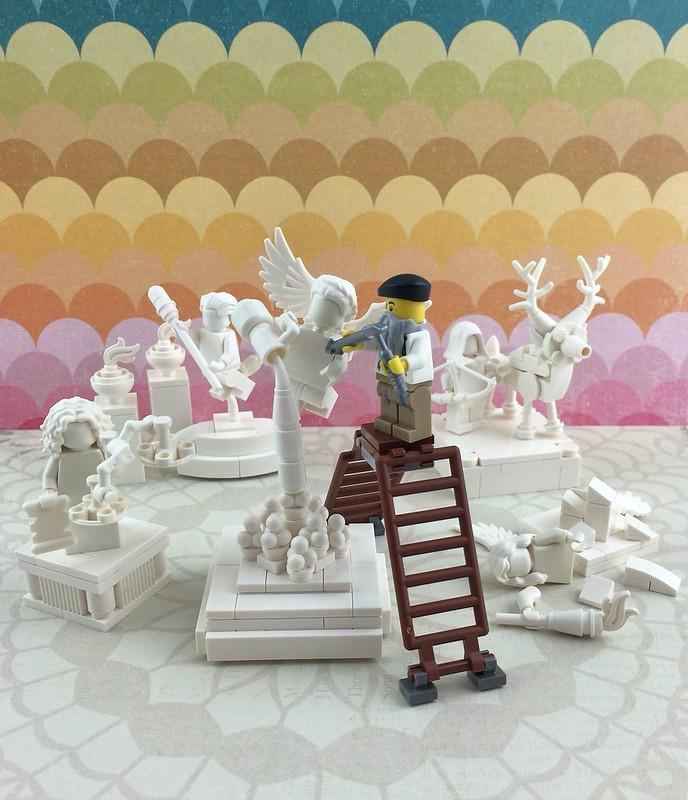 The Sculptor - LEGO sculpteur