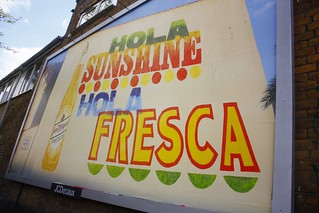 Alan Kitching - San Miguel Hola Sunshine 48 Sheet - N22 (Nice one Scribblez) | by Début Art