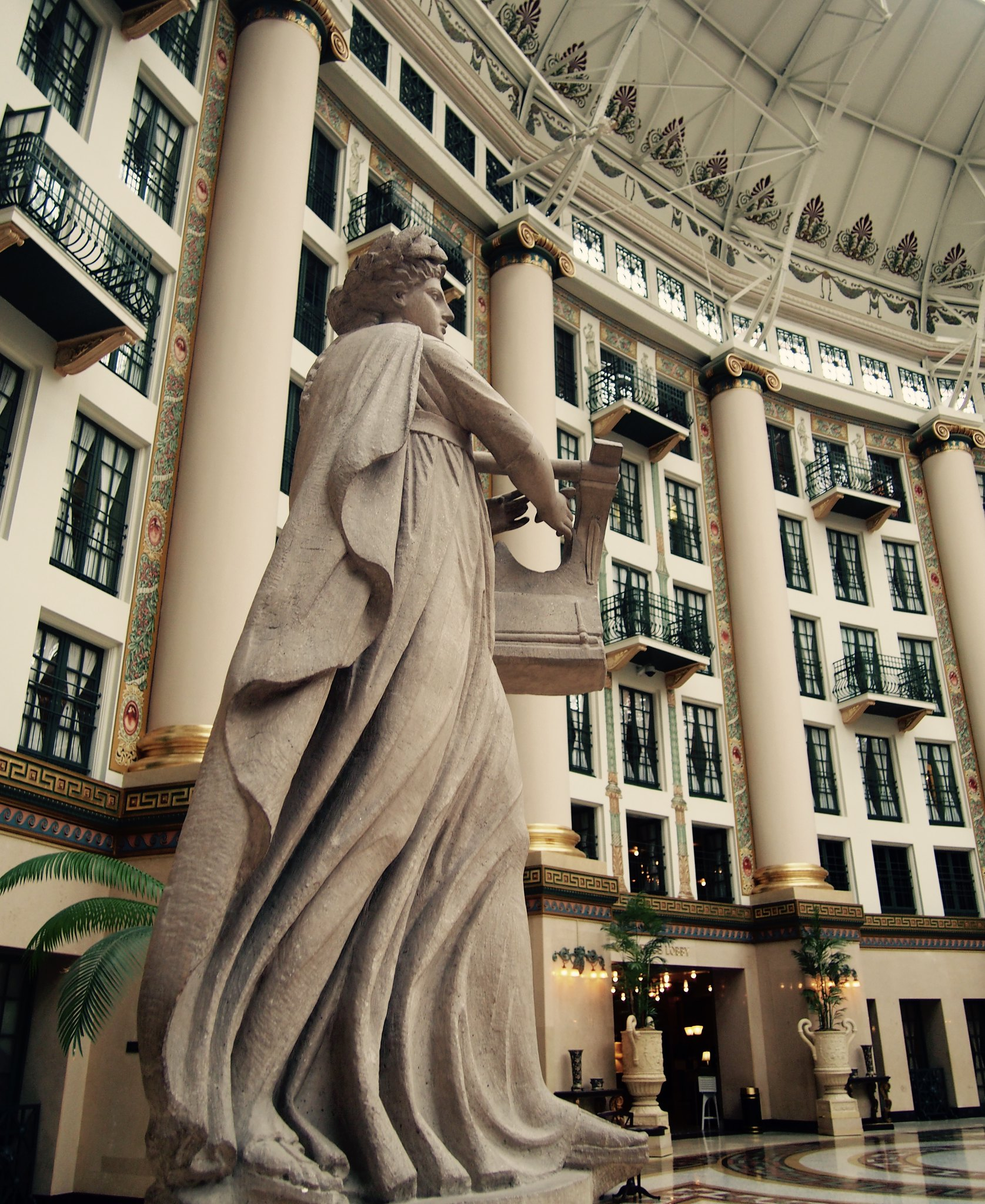 West Baden figurine