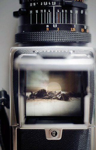 hasselblad + chocolate | by manyfires