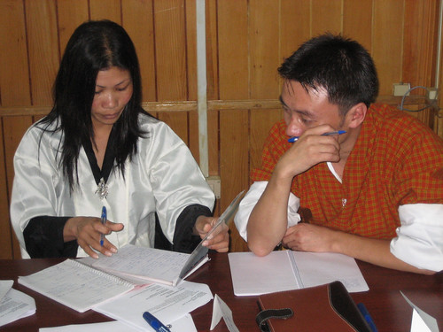 Reporting for Radio, Bhutan 2008 | by DWA_Asia