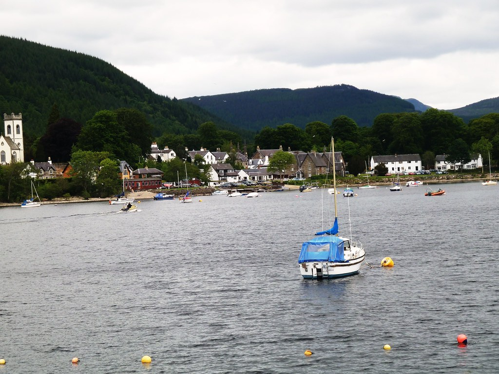 Kenmore on Loch Tay, Perthshire.