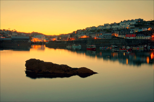 Mevagissey sunset | by Andy Watson1