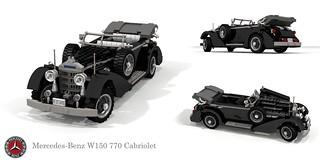 Mercedes-Benz W150 770 Grosser Cabriolet (1938 - 1943)