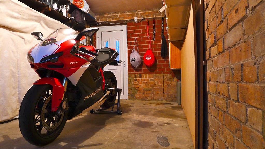 848 Evo Corse Garaged