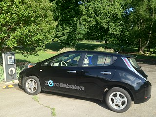 SACE EV Nissan Leaf | by The Southern Alliance for Clean Energy