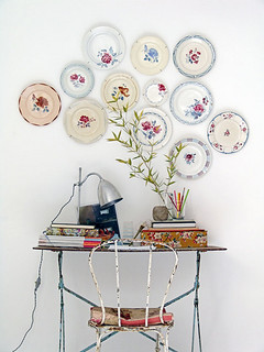 wall of plates | by the style files