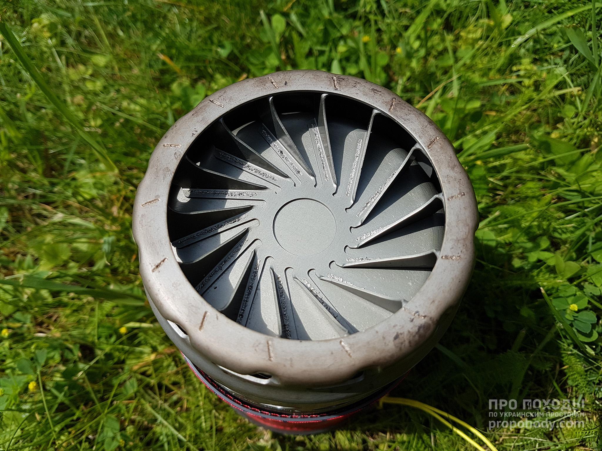 MSR Windburner. Міцний радіатор