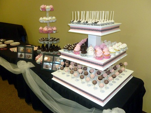 Wedding Cake Pop Sticks