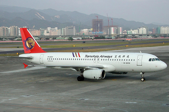 B-22311 A320-232 TransAsia