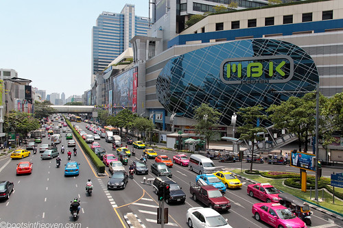 MBK Center and Bangkok's Bright Traffic | by Boots in the Oven