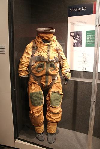 SR-71 high altitude space suit | Raymond Cunningham | Flickr